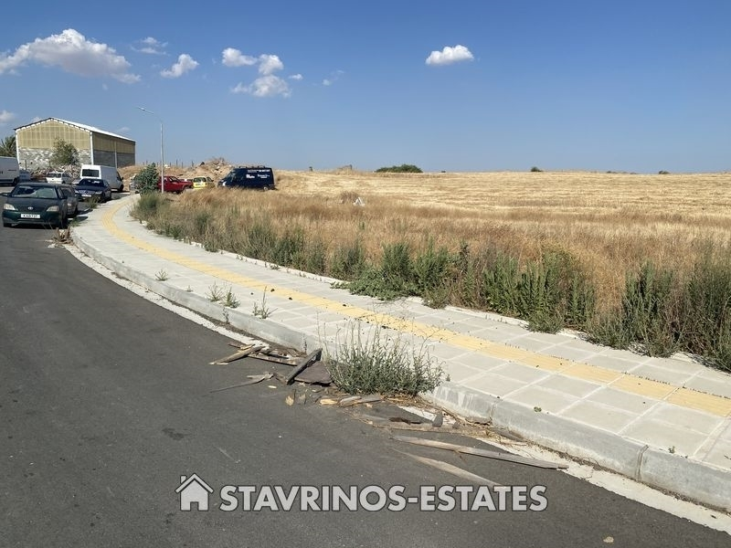(For Sale) Land Industrial Plot || Nicosia/Lakatameia - 805 Sq.m, 225.000€